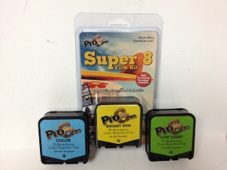 Super 8mm Film Kit